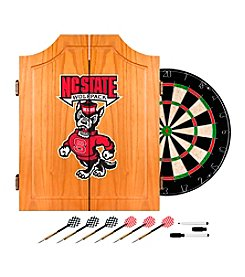 NCAA® North Carolina State Dart Cabinet with Darts and Board