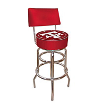 Trademark Games™ Texas A&M University Padded Bar Stool with Back