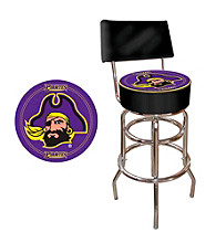 Trademark Games™ East Carolina University Padded Bar Stool with Back