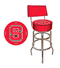 Trademark Games™ North Carolina State Padded Bar Stool with Back