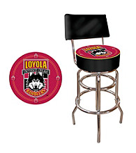 Trademark Games™ Loyola University Chicago Padded Bar Stool with Back