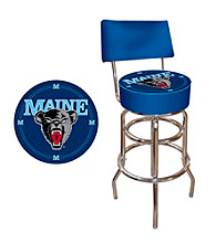 Trademark Games™ University of Maine Padded Bar Stool with Back