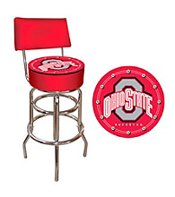 Trademark Games™ The Ohio State University Padded Bar Stool with Back