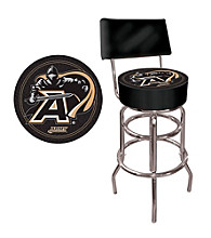 Trademark Games™ Army Padded Bar Stool with Back