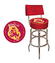 Trademark Games™ Arizona State University Padded Bar Stool with Back