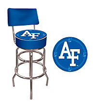Trademark Games™ Air Force Padded Bar Stool with Back