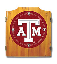 Trademark Games™ Texas A&M University Dart Cabinet - Includes Darts and Board