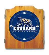 Trademark Games™ BYU Dart Cabinet - Includes Darts and Board