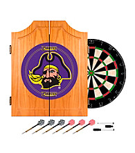 Trademark Games™ East Carolina University Dart Cabinet - !ncludes Darts and Board