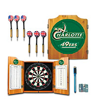 Trademark Games™ University of North Carolina Charlotte Dart Cabinet w/ Board