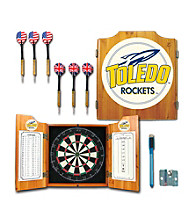 Trademark Games™ University of Toledo Dart Cabinet with Darts and Board
