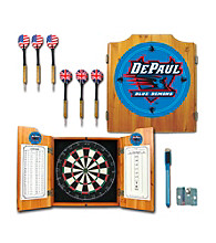Trademark Games™ DePaul University Dart Cabinet with Darts and Board
