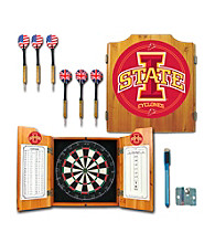 Trademark Games™ Iowa State University Dart Cabinet with Darts and Board