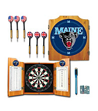 Trademark Games™ University of Maine Dart Cabinet with Darts and Board