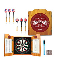 Trademark Games™ Mississippi State University Dart Cabinet w/ Darts and Board