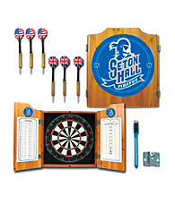 Trademark Games™ Seton Hall University Dart Cabinet w/ Darts and Board
