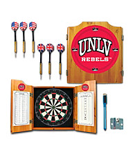 Trademark Games™ UNLV Dart Cabinet with Board