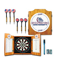 Trademark Games™ Gonzaga University Dart Cabinet - !ncludes Darts and Board