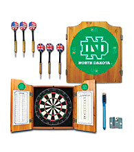 Trademark Games™ University of North Dakota Dart Cabinet with Darts and Board