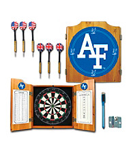 Trademark Games™ Air Force Dart Cabinet - !ncludes Darts and Board