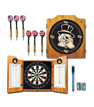 Trademark Games™ Wake Forest University Dart Cabinet Includes Darts and Board