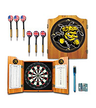 Trademark Games™ Wichita State U Dart Cabinet - Includes Darts and Board