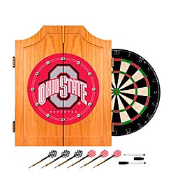 NCAA® Ohio State University Dart Cabinet with Darts and Board