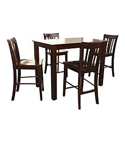 International Concepts Java Shaker Styled Counter Height Wood Dining Collection