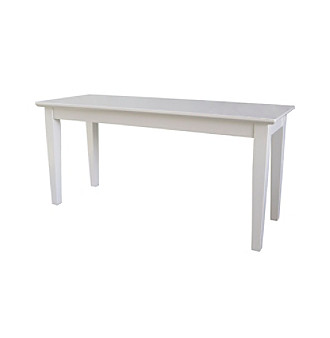 International Concepts Shaker Styled Wood Bench