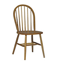 International Concepts Windsor High Spindleback Wood Chair With Plain Legs