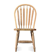 International Concepts Windsor High Arrowback Wood Chair