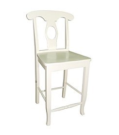 International Concepts Empire Counter Height Solid Wood Stool