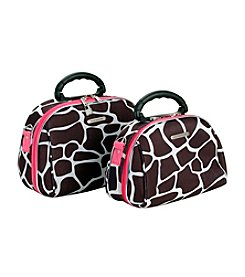 Luca Vergani® 2-pc. Cosmetic Set - Pink Giraffe