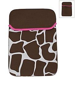 Rockland® Computer Sleeve - Pink Giraffe