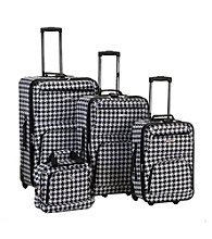 Rockland 4-pc. Kensington Luggage Set