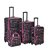 Rockland 4-pc. Butterfly Luggage Set