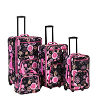 Rockland 4-pc. Pucci Luggage Set