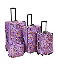 Rockland 4-pc. Love Luggage Set