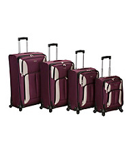 Rockland 4-pc. Impact Spinner Luggage Set