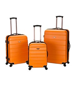 Rockland Melbourne 3-pc. ABS Luggage Set
