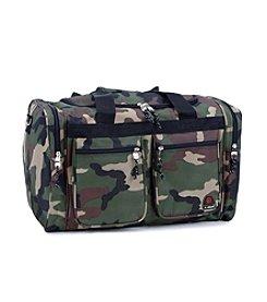 "Rockland 19"" Camo Tote Bag"