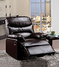 Acme Arcadia Faux Leather Recliner