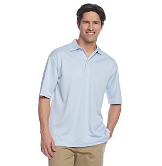 PGA TOUR® Men's Solid Mesh Golf Polo