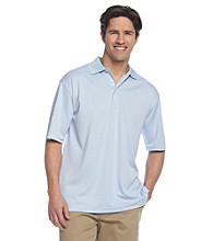 PGA TOUR® Men's Solid Mesh Golf Polo