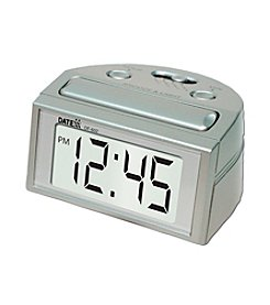 Datexx® Alarm Clock with lighted LCD