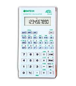 Datexx® Scientific Calculator with Hard Cover