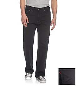 Levi's® Men's Black 569 Loose Fit Jeans