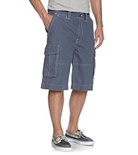 Nautica® Men's Atlantic Blue Ripstop Cargo Shorts