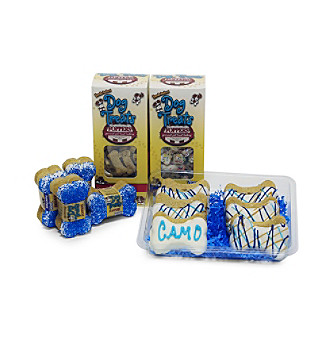 "Foppers® Gourmet Pet Treat Bakery 178-pc. ""Camo King"" Camo Dog Treat Gift Set"