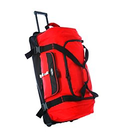 Olympia Drop-Bottom Rolling Duffel Bag